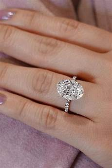 36 oval engagement rings that every dreams oh so