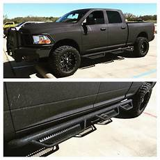 Sprayed 2015 Ram 2500 W Ranch Front Bumper And Steps