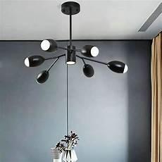 kronleuchter modern led led pendelleuchte kronleuchter modern aus acryl in schwarz