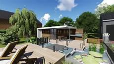 pool house piscine construction d un pool house piscine et bassin 1