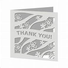free quot thank you quot card svg file cricut svg cards