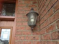 how to move position of exterior lights mounted in brick veneer