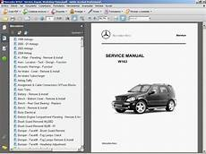 service repair manual free download 2012 mercedes benz glk class on board diagnostic system mercedes w163 service manual wiring diagram