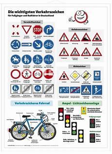 Lehrtafel Die Wichtigsten Verkehrszeichen 5305800