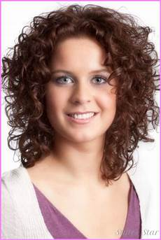 short natural curly haircuts for round faces stylesstar