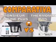 Comparativa Monsieur Cuisine Plus Quot Lidl Quot Y Thermomix Tm5