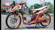 Modifikasi Mio Sporty by Tm2 Modifikasi Motor Yamaha Mio Sporty Drag Style