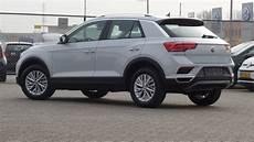 Volkswagen New T Roc 2018 Style White Silver Metallic