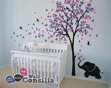 babyzimmer wandgestaltung baum