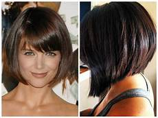20 collection of stacked bob hairstyles with bangs