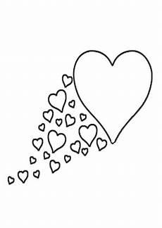 Ausmalbilder Herz Und Ausmalbild Herz 2 Kostenlos Ausdrucken