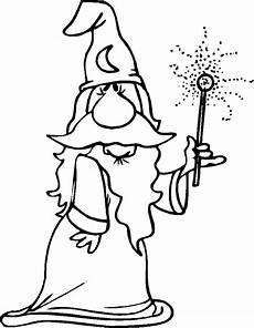 Zauberer Malvorlagen Novel Zauberer Zauberer Ausmalbilder Bildkarten