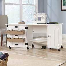 sewing machine table cabinet craft storage desk dresser