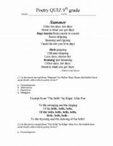 poetic devices worksheet grade 7 25432 worksheets poetry devices quiz grade 9