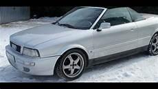 audi 80 b4 2 3 b convertible 1992r silver cabrio poland