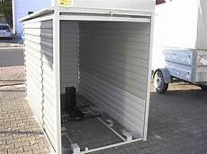 kleine garage für motorrad motorradgarage kleingarage mit metallrollo agur
