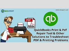 can't create pdf in quickbooks