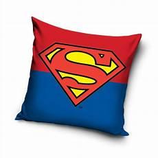 kissen für kinder superman logo gef 252 lltes kissen jungen kinder blau rot ebay