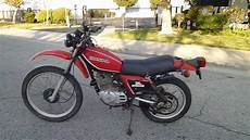 1981 honda xl 250 s