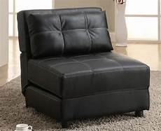 chair futon black futon lounge chair