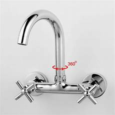 kitchen tap faucet handle kitchen faucet mixer wall mounted brass copper chrome plated bathroom kitchen sink
