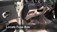 Interior Fuse Box Location 2007 2012 Nissan Versa 2008