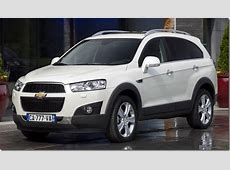 Chevrolet Captiva 2012 New Model SUV Launched At Auto Expo