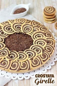 crema al cioccolato benedetta crostata di girelle bicolore con crema al cioccolato ricetta facile ricetta nel 2020