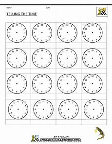 printable telling time worksheets 2nd grade 3624 telling the time blank worksheet math worksheets 1st grade math worksheets clock worksheets