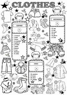 worksheets clothing 18811 81 best images about clothes on bingo grade science and parts