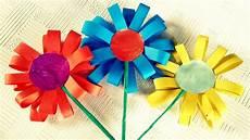 Blume Basteln Kinder - how to make paper flowers for