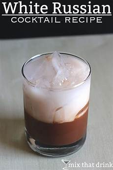 white russian mix that drink