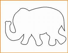Malvorlagen Elefanten Ausdrucken Malvorlage Elefant Einfach Rooms Project