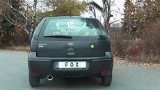 fox sportauspuff opel corsa c bj 00 06 1 0l 1 2l 1 4l 1