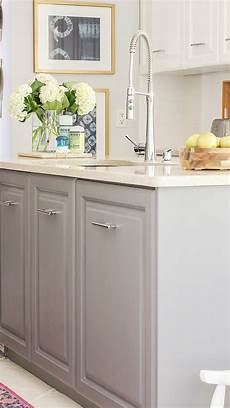 Painted Kitchen Furniture Fastest Way To Paint Kitchen Cabinets The Ultimate Hack