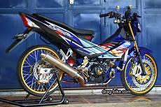 Modifikasi Sonic 150 Jari Jari by 40 Foto Gambar Modifikasi Motor Sonic Racing