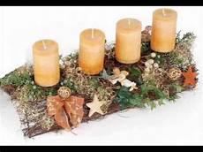 adventskranz selbst basteln adventsgesteck selber machen