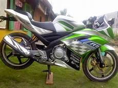 Modifikasi Warna Motor Vixion modifikasi yamaha vixion warna hijau fairing