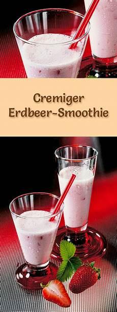 erdbeer smoothie rezept zum smoothies selber machen