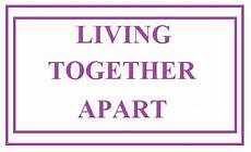 Living Apart Together - can you be in a de facto relationship without living