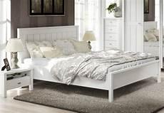 Bett Landhausstil Weiß - bett 180x200 brighton schlafzimmer landhaus doppelbett