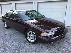 how cars work for dummies 1996 chevrolet impala parental controls 1996 chevrolet impala ss for sale classiccars com cc 999111