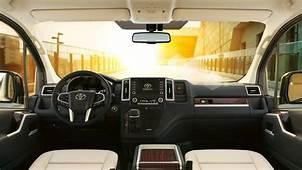 Toyota Granvia Is A HiAce Based Luxury Minivan For
