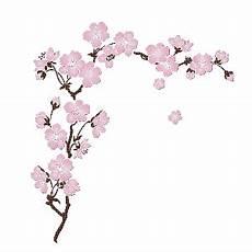 fleur de cerisier dessin branche de cerisier en fleur bordado japones