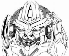 Bilder Zum Ausmalen Transformers Megatron Enjoy The 密卡登聽音樂 Megatron Is A Character