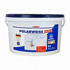 wandfarbe weiss wilckens innenfarbe polarweiss extra wei 223 wandfarbe 5 l