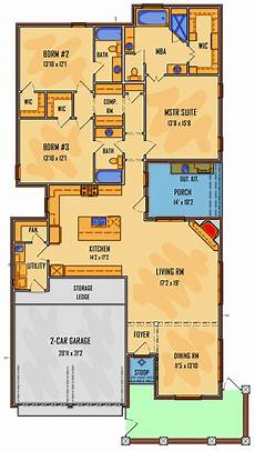 cajun style house plans 3 bed acadian cottage home plan with semi private