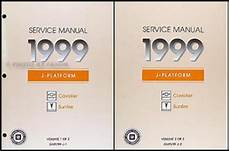 auto repair manual online 1999 pontiac sunfire head up display 1999 chevy cavalier pontiac sunfire shop manual set 99 chevrolet repair service ebay