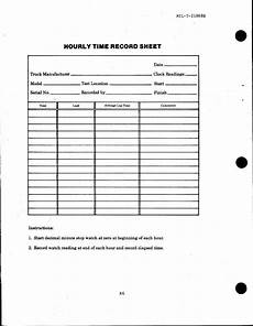 time recording worksheet 3183 hourly time record sheet