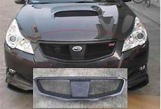 china carbon fiber front grille for subaru legacy 2010